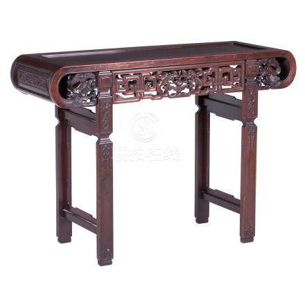 A huanghuali altar table 19th/20th century