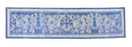 A silk robe and other textiles Circa 1900 (21)