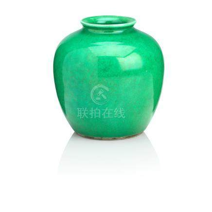 A 'green ge' glazed jarlet 18th/19th century