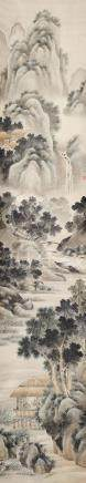 CHINESE LANDSCAPE PAINTING BY PENG YANG