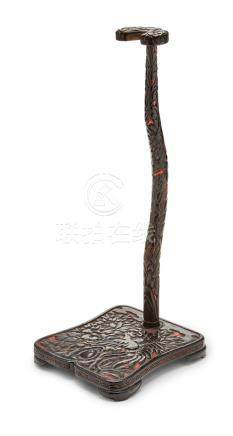 A tachikake (stand for a tachi sword) Edo period (1615-1868) or Meiji era (1868-1912), 19th century