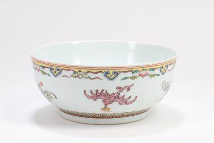 Chinese Famille-Rose Porcelain Bowl