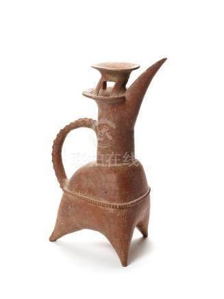 A CHINESE GUI TRIPOD VESSEL – C. 2800 2400 BC.