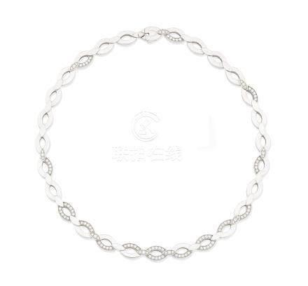 A diamond 'Diadea' necklace, by Cartier