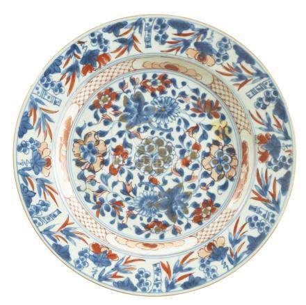 Plate, probably China, Porcelain, 19th c.