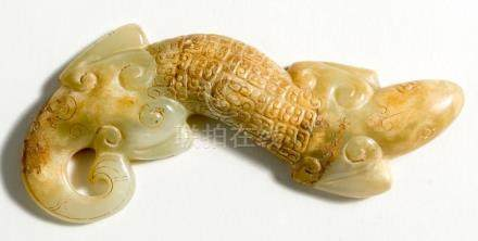 Chinese Jade Lizard, ca. 15,5 cm long