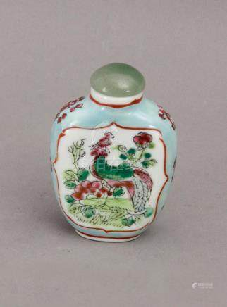 A 20th century Chinese porcelain snuff bottle
