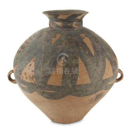 A Chinese Neolithic painted pottery jar, Banshan culture, ci