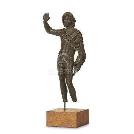 HELLENISTIC STATUETTE OF ALEXANDER THE GREAT, 4th-3rd Centur