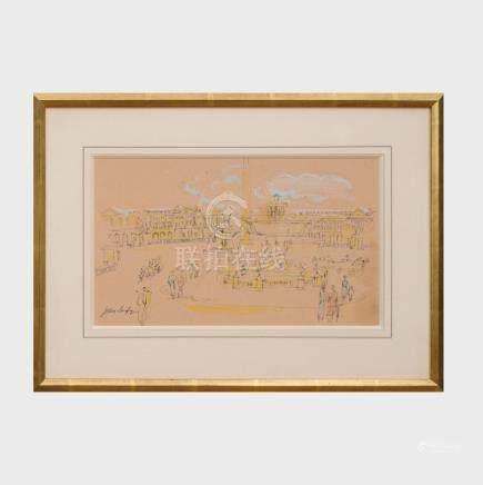 Jean Dufy (1888-1964): Place de la Concorde