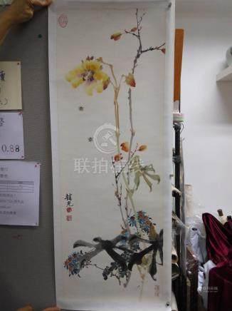 趙世光 - 花卉雛菊蜜蜂