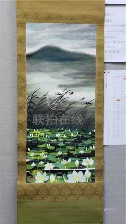 林風眠 - 荷塘飛鳥