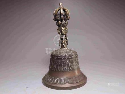 TIBETAN COPPER CONQUER DEMON INSTRUCTMENT