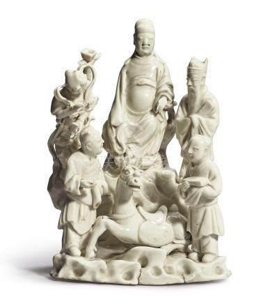 A 'DEHUA' 'WENCHANG' GROUPQing Dynasty, Kangxi Period