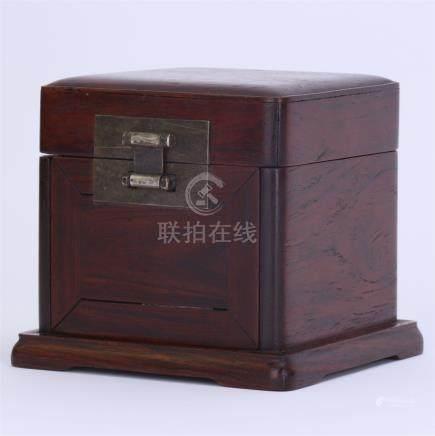 CHINESE HARDWOOD HUANGHUALI BOX