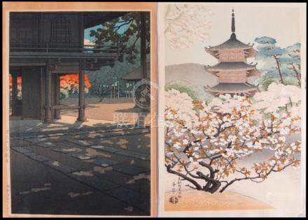HASUI and Asada BENJI Woodblock Prints