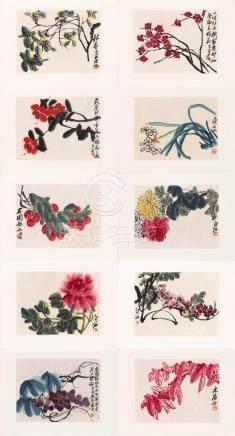Baishi lao ren hua ce / [Qi Baishi (1864-1957)] 白石老人畫册 / [齊白