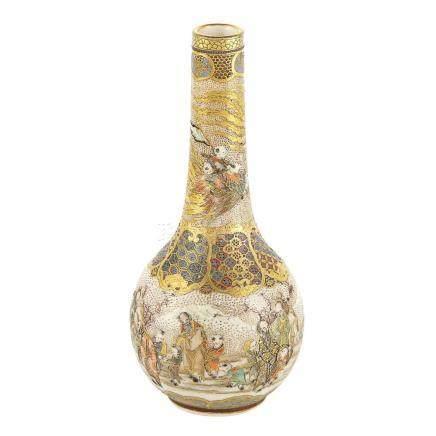 Japanese Satsuma Miniature Vase