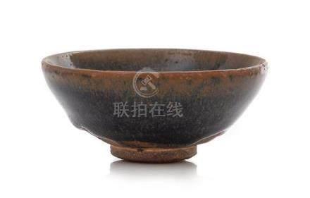 A 'Hare's Fur' Glazed Jian Tea Bowl Diameter 3 5/8