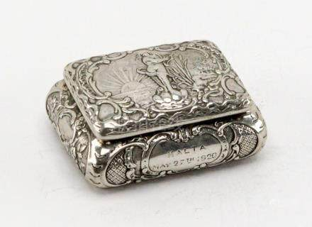 Antique European Silver Case