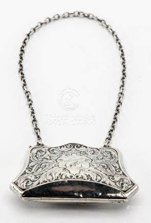 Antique European Sterling Silver Purse