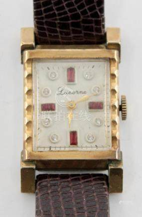 Lucerne Women's Wrist Watch with Gemstones