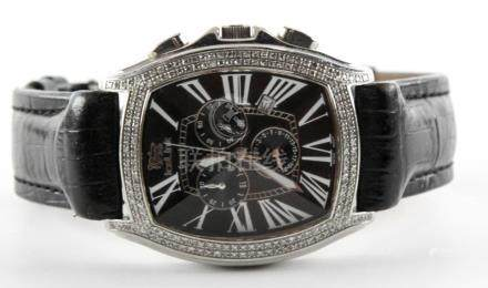 IceLink Mens Watch with Diamonds