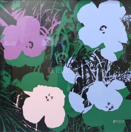 安迪花卉版畫 框