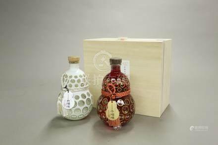 """霧島酒造""""百琉璃""""2瓶一組"""