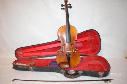 German Violin, Faciebat anno 1713