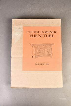 A VOLUME OF BOOK ON CHINESE DOMESTIC FURNITURE
