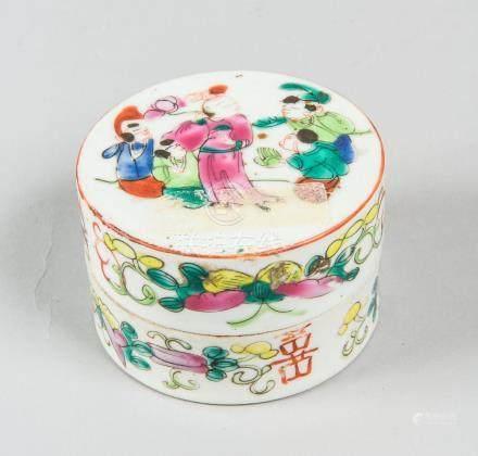 Boîte à épices en porcelaine de Chine D : 8,8 cm