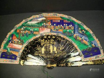 A fine Chinese fan