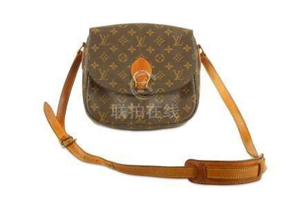Louis Vuitton Saint Cloud Crossbody Bag, c. 1996, monogram c