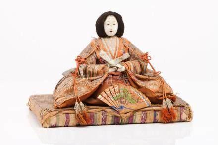 A pair of Hina Matsuri figures