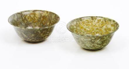 A pair of bowls