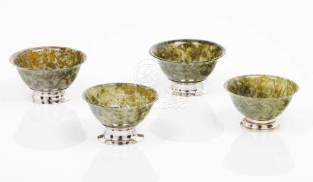 A set of four small bowls