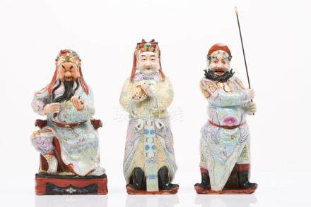 A set of Oriental figures