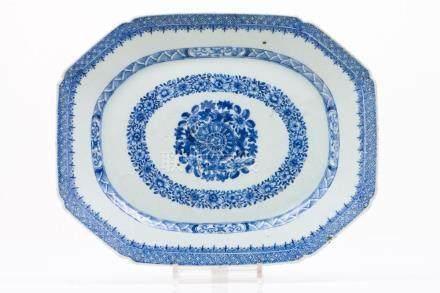 An octogonal dish