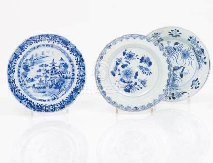 A Qianlong octogonal plate