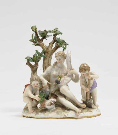 "\The Earth"" allegorical group Meissen, after the model by J"