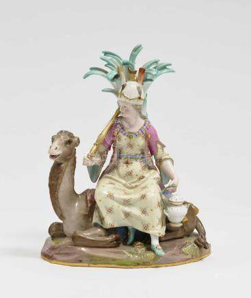 "\Asia"" allegorical group Meissen """