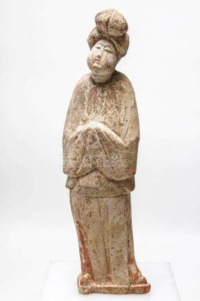 Chinese Tang Dynasty Female Tomb Figure