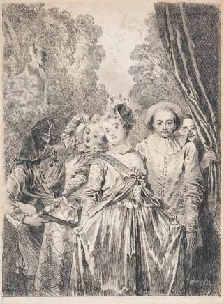 ANTOINE WATTEAU (1684 1721)
