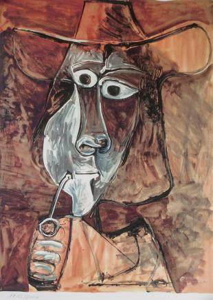 Pablo Picasso Spanish Lithograph 1713/2000 Signed