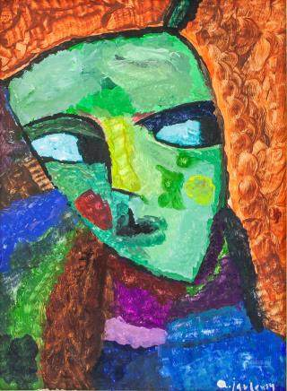 Alexej von Jawlensky Russian Abstract OOC