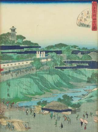 Ando Hiroshige 1826-1869 Japanese Woodblock