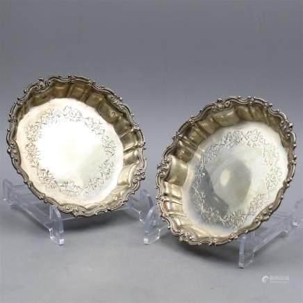 Swedish Silver Plates.