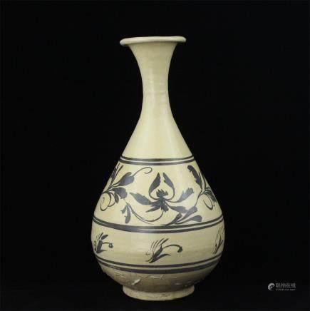 A Chinese Jizhou-Type Porcelain Vase
