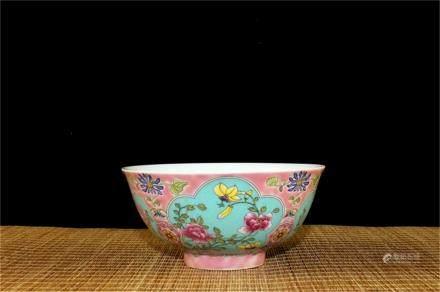 A Chinese Enamel Porcelain Bowl